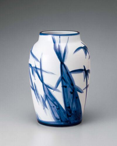 Bamboo Shoots, Sometsuke Vase